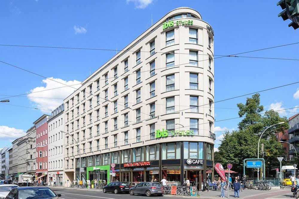 ibis styles hotel berlin mitte berlin boka. Black Bedroom Furniture Sets. Home Design Ideas