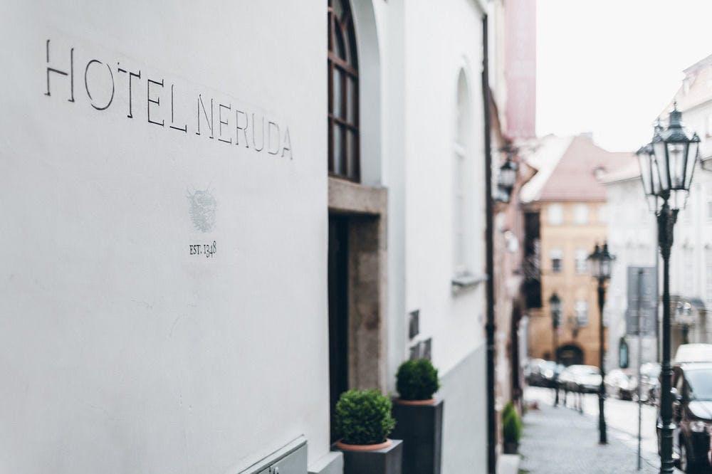 Design Hotel Neruda Prag Boka Billiga Resor