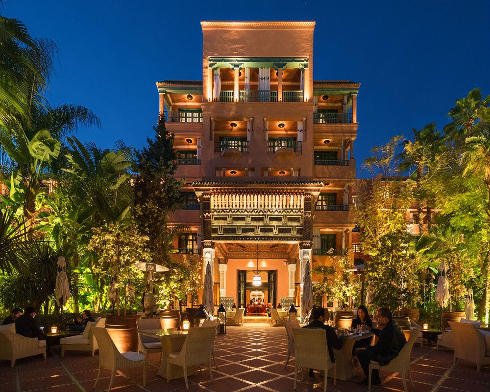 La Mamounia Hotel Spa Marrakech Marrakech Marokko