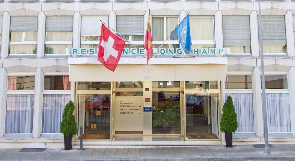 Drake longchamp hotel geneve boka billiga for Design hotel 16 geneva