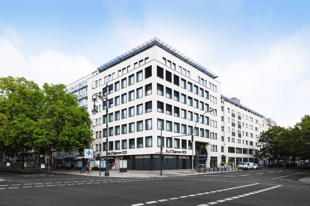 ku 39 damm 101 design hotel berlin boka. Black Bedroom Furniture Sets. Home Design Ideas