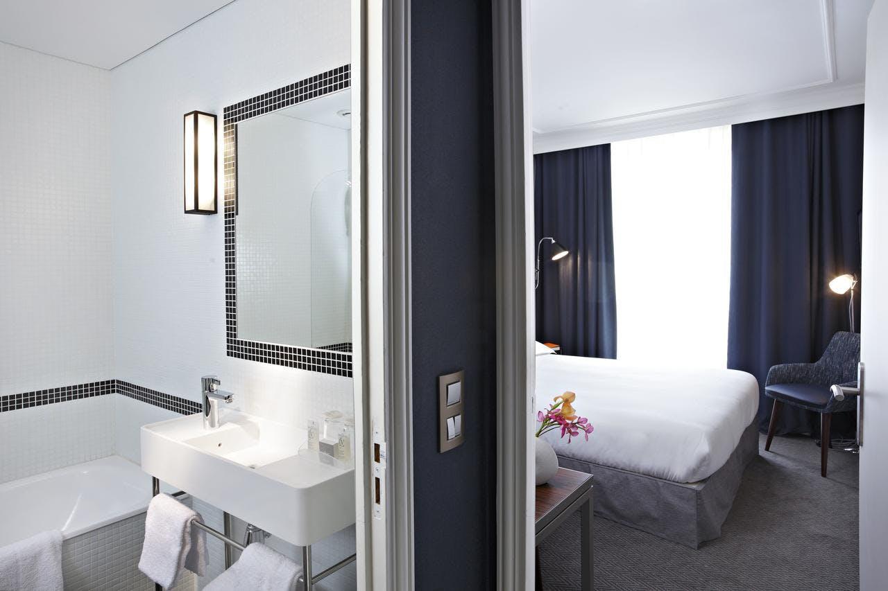 londres et new york hotel paris boka billiga resor online. Black Bedroom Furniture Sets. Home Design Ideas