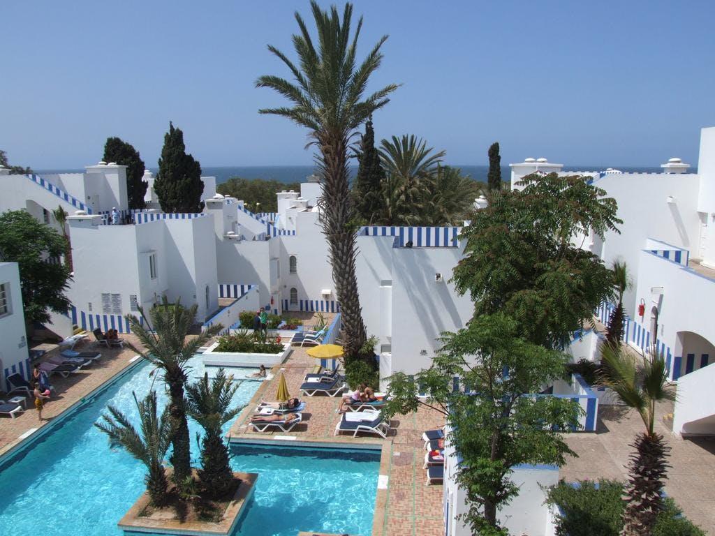 Hotel tagadirt agadir boka billiga resor online for Appart hotel 5 etoiles
