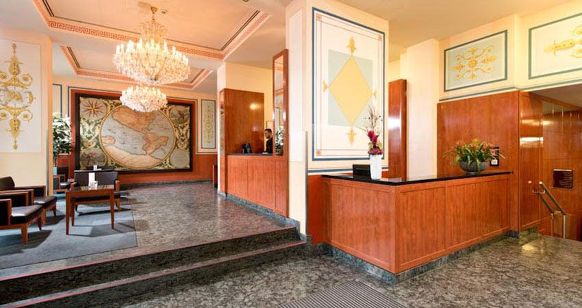 angleterre hotel berlin berlin boka billiga. Black Bedroom Furniture Sets. Home Design Ideas